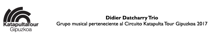 Didier Datcharry Trio ES