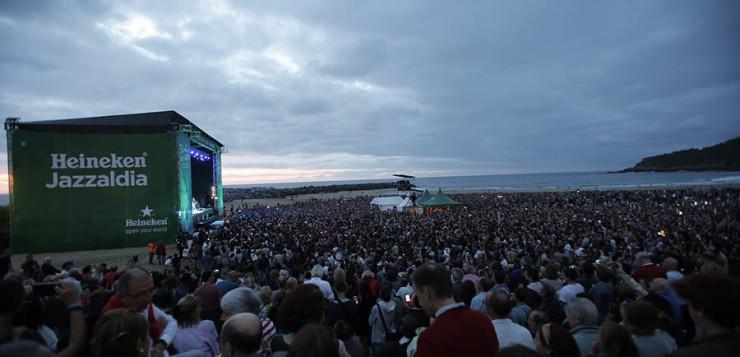 El concierto que el sol no se quiso perder