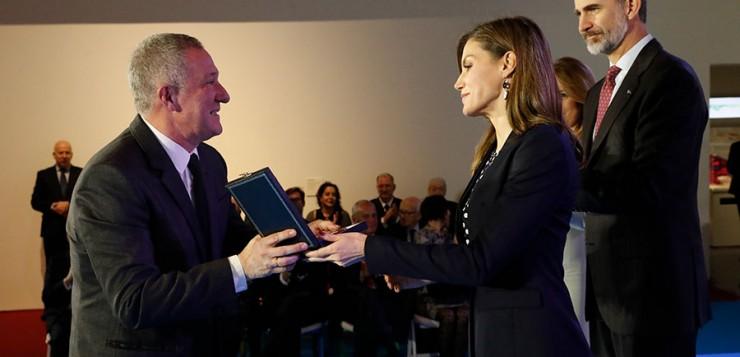Miguel Martín, director del Heineken Jazzaldia, ha recibido la Medalla de Oro al Mérito en las Bellas Artes en una ceremonia en Málaga