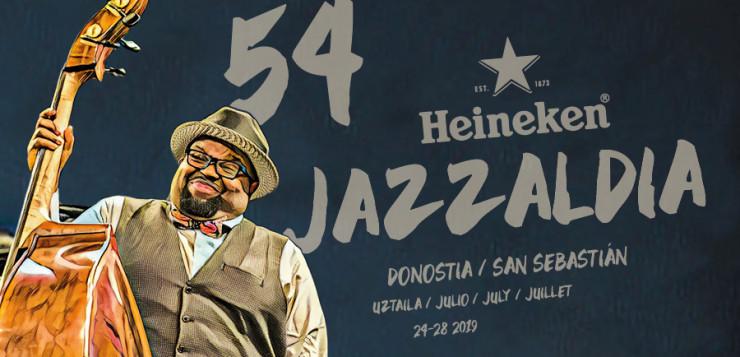 El cartel del 54 Heineken Jazzaldia es una imagen optimista que refleja la satisfacción de la creación artística